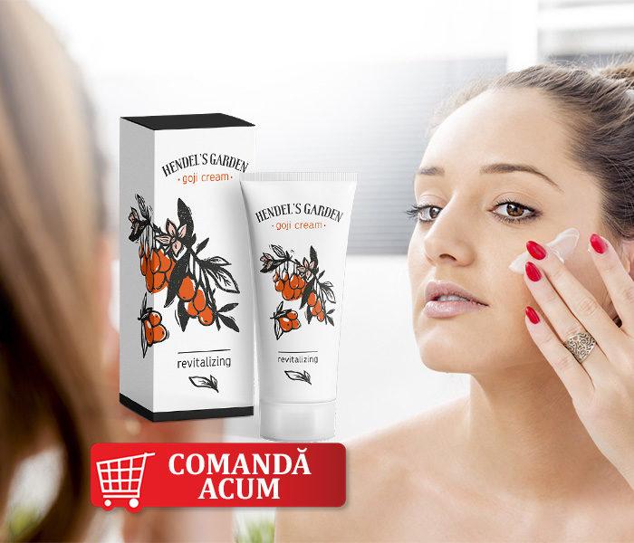 Goji Cream – pentru un ten curat, hidratează şi reduce petele pigmentare