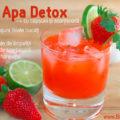 Apă cu căpşuni şi scorţişoară – pentru detoxifiere
