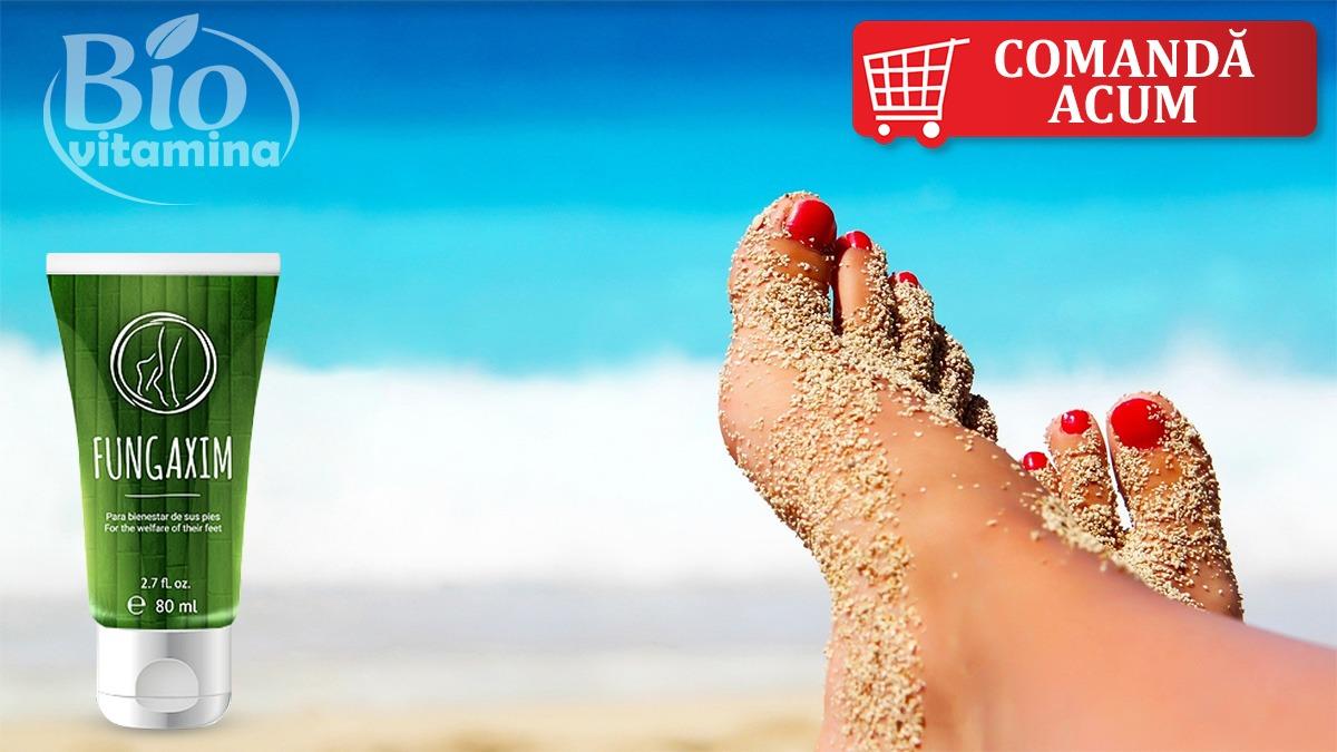 Fungaxim unghie incarnata plaja