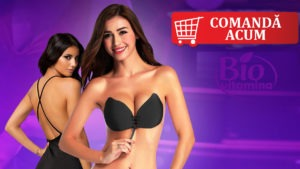 fly bra sutien fluture silicon decolteu