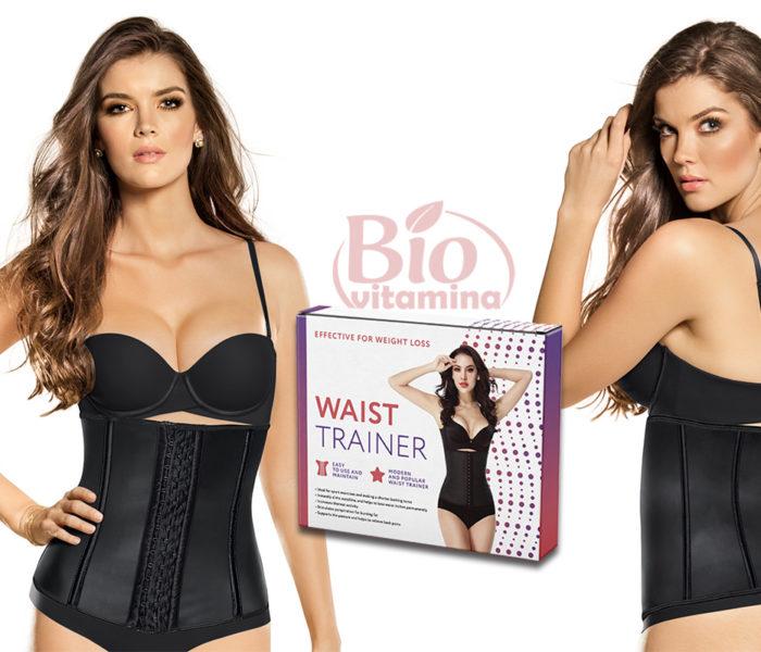Waist Trainer – corset din latex, îţi face o talie de viespe
