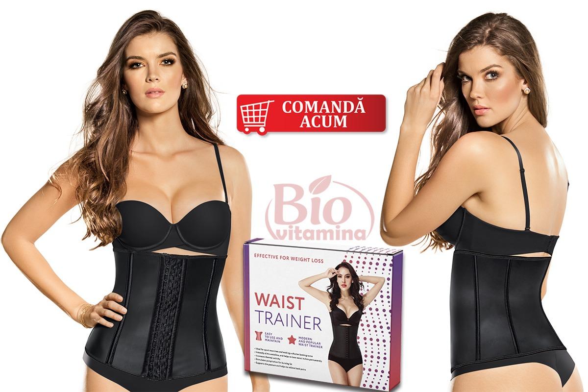 Waist Trainer corset pozitie talie