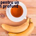 Ceai de banane cu scorţişoară – pentru un somn uşor