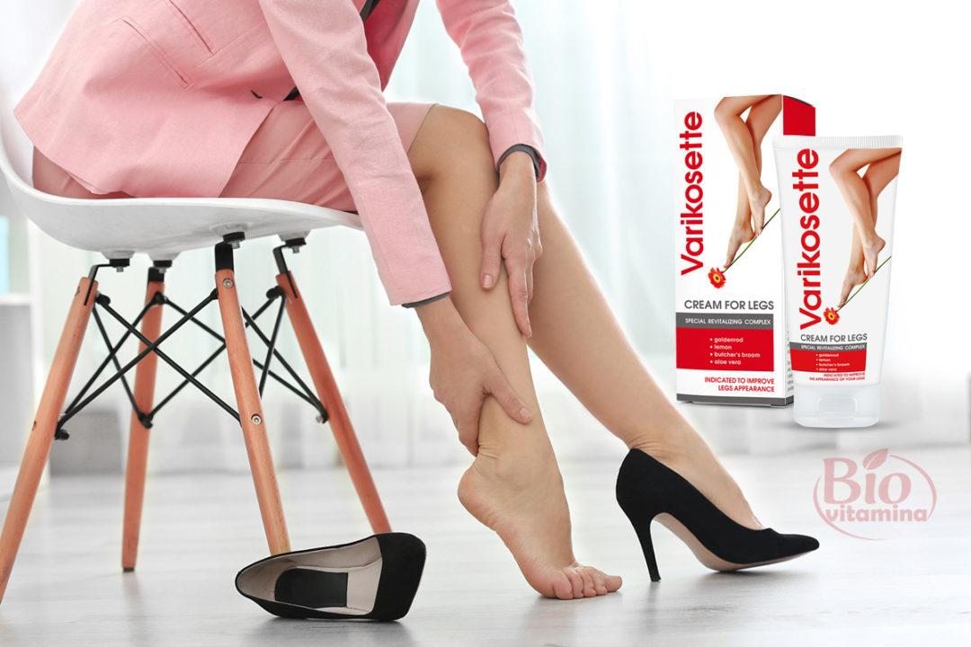 Varikosette – stimulează circulația sanguină și combate varicele