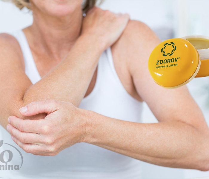 Zdorov Propolis Cream – pentru articulații nedureroase și mobilitate crescută
