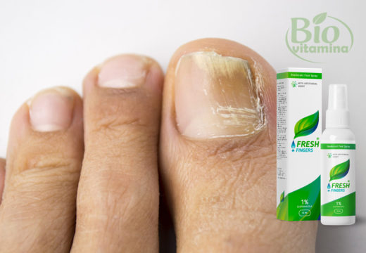 Fresh Fingers – ciuperca piciorului dispare definitiv