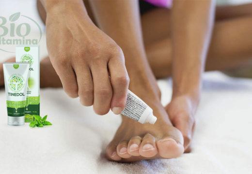 Tinedol tratează și previne ciuperca piciorului și a unghiei