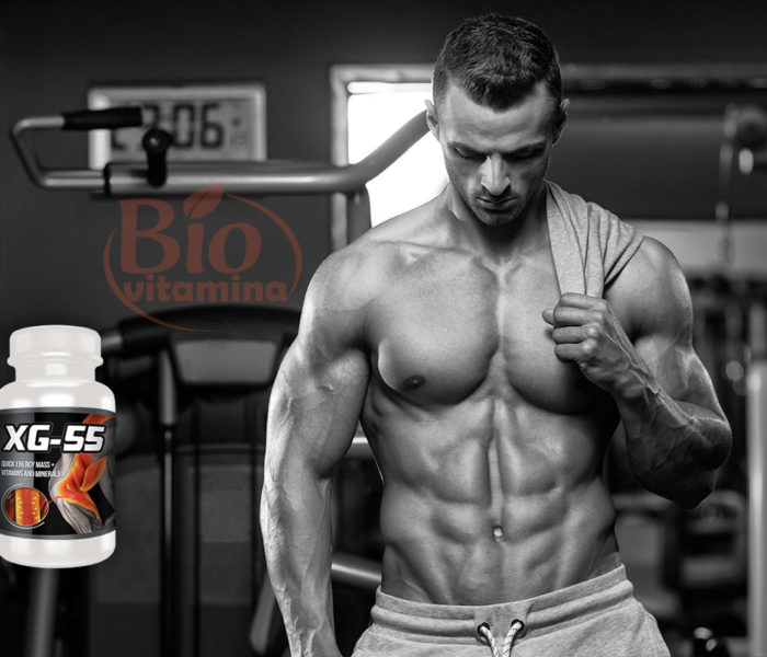 XG-55, pentru mușchi puternici și abdomen plat