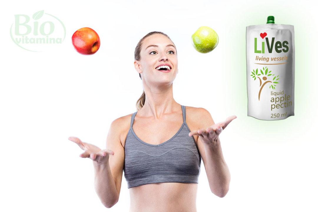 Lives (Pectin) – gustul plăcut care-ţi oferă slăbire şi detoxifiere