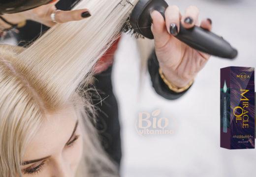 Miracle Oil revitalizează părul și îi conferă strălucire