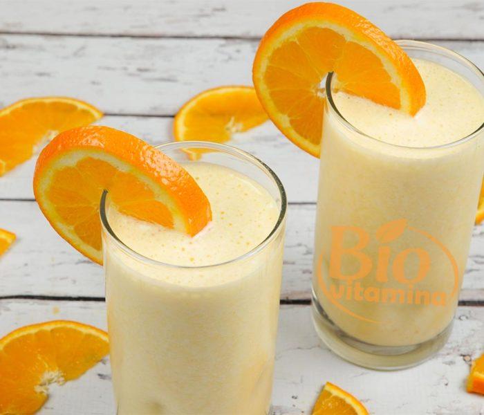 Smoothie cu portocale şi iaurt – pentru prevenirea problemelor cardiace
