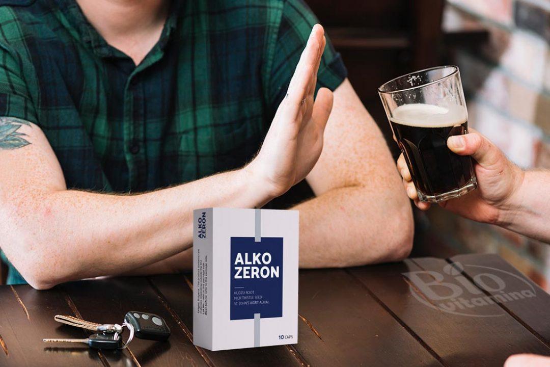 Alkozeron te scapă de dependenţa de alcool