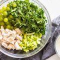 Salată cu piept de pui şi struguri