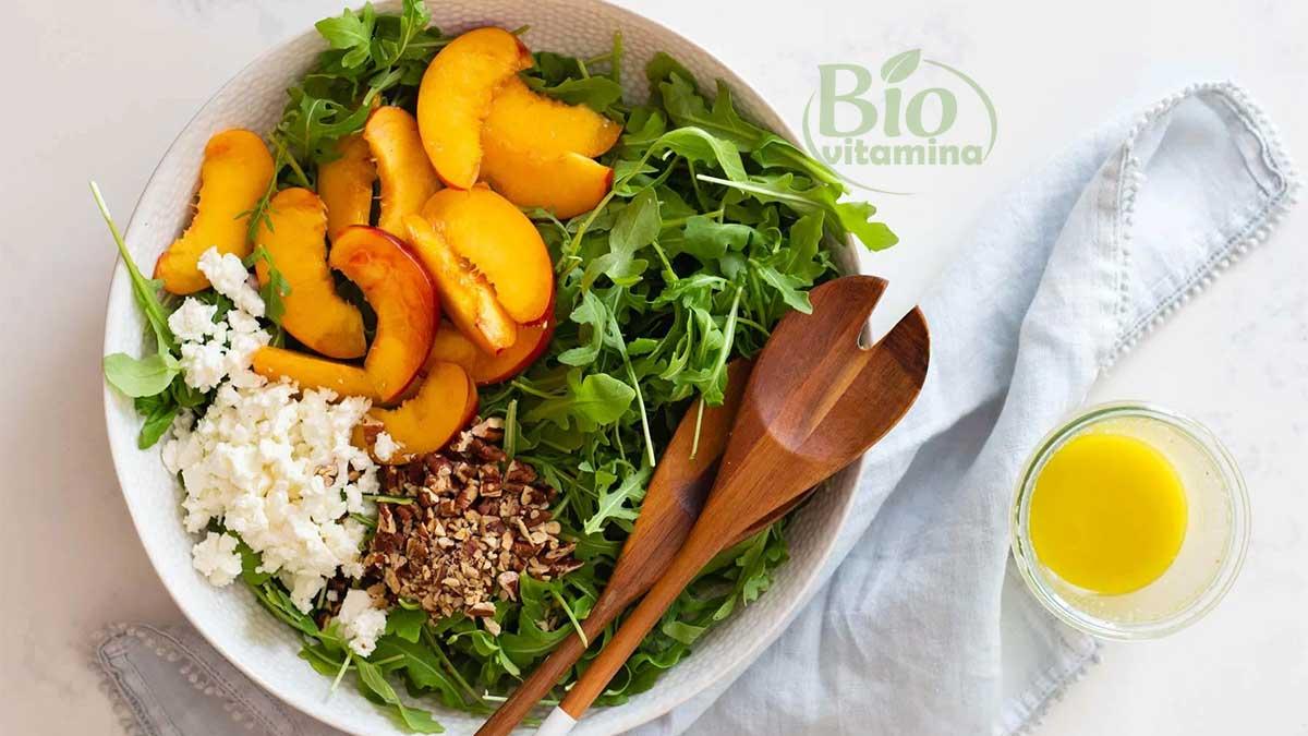 salata-rucola-nectarine
